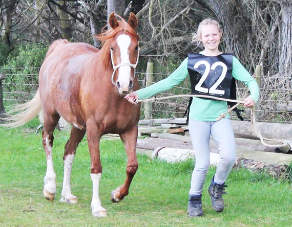 Kimberley trots out Reniah for the final vetting.