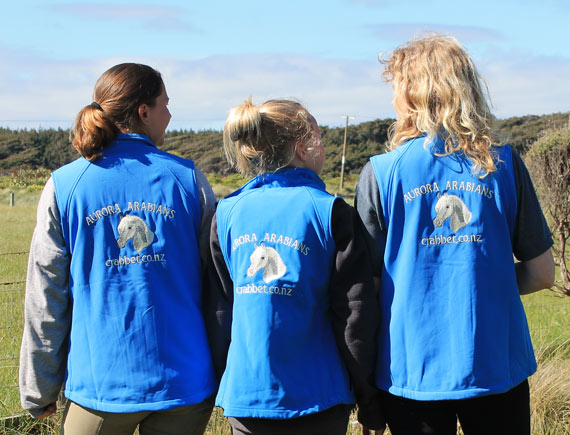 The team sported their smart new Aurora jackets, embroidered by Scott and Timea Arlett of Apt Clothing (www.aptclothing.co.uk).